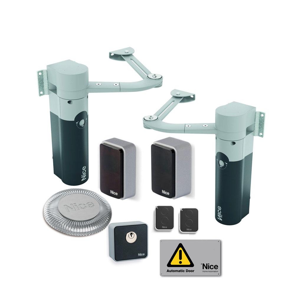 Kit automatizare poarta batanta Nice WALKY2024KCE, 100 Kg/canat, 1.8 m/canat, 24 V imagine spy-shop.ro 2021