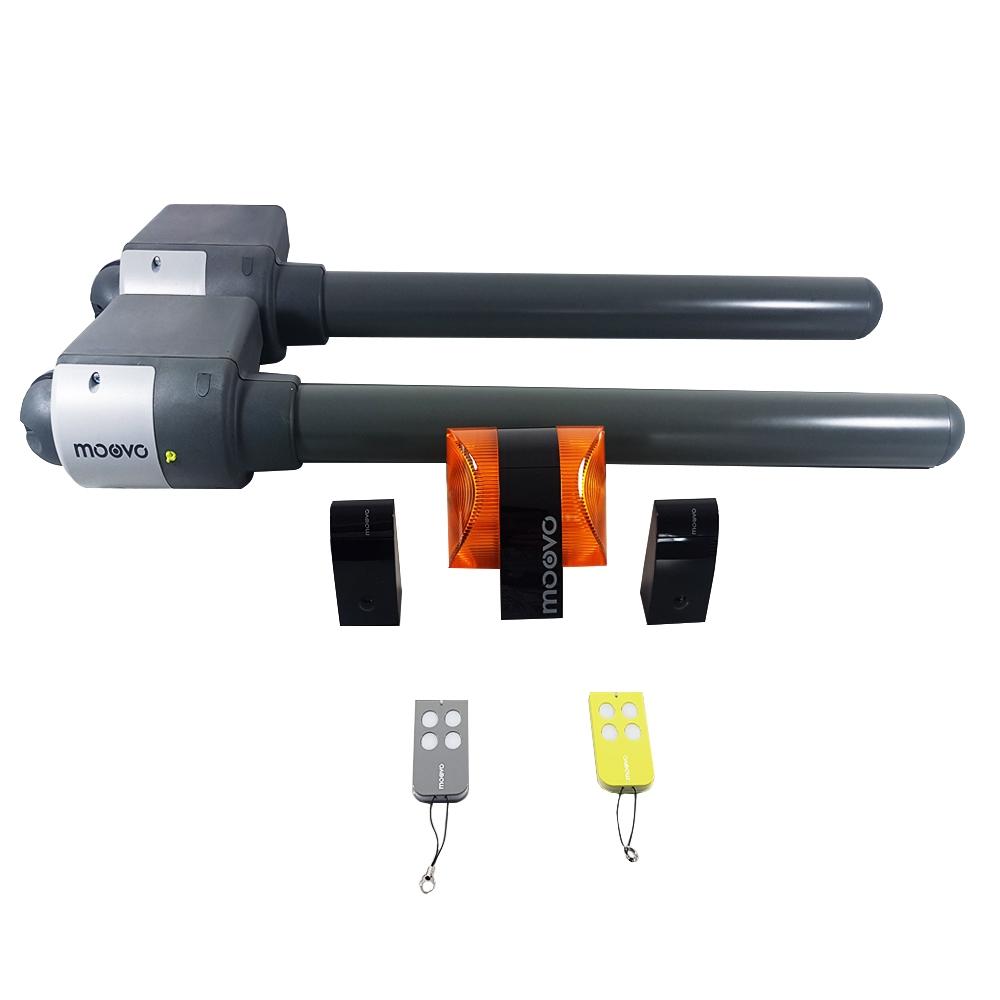 Kit automatizare poarta batanta Moovo XW532KM, 250 Kg, 2.5 m, 12 V