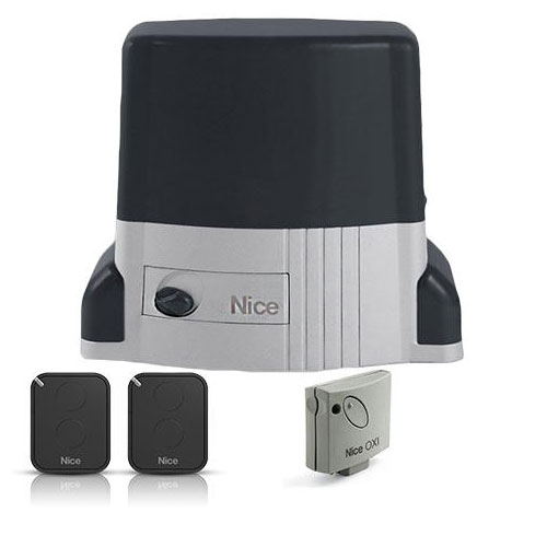 Kit automatizare poarta culisanta Nice TH1500KCE, 1500 Kg, 230 Vac, 500 W imagine spy-shop.ro 2021