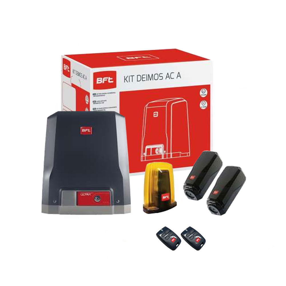 Kit automatizare poarta culisanta BFT DEIMOS AC KIT A600, 600 Kg, 230 V, limitator electromecanic imagine spy-shop.ro 2021