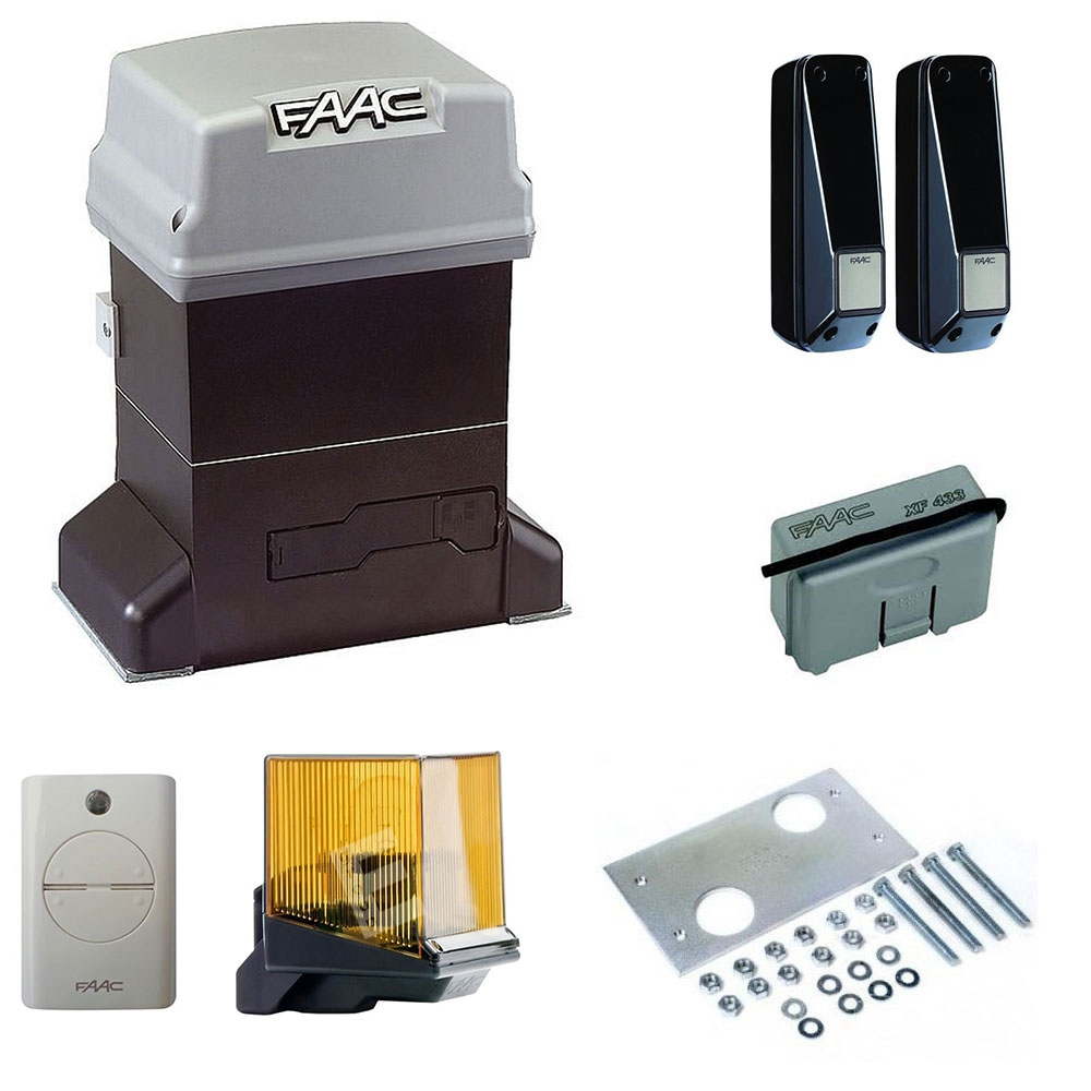 Kit automatizare poarta culisanta FAAC 746 ER Z16, 600 Kg, 230 V, 40 m