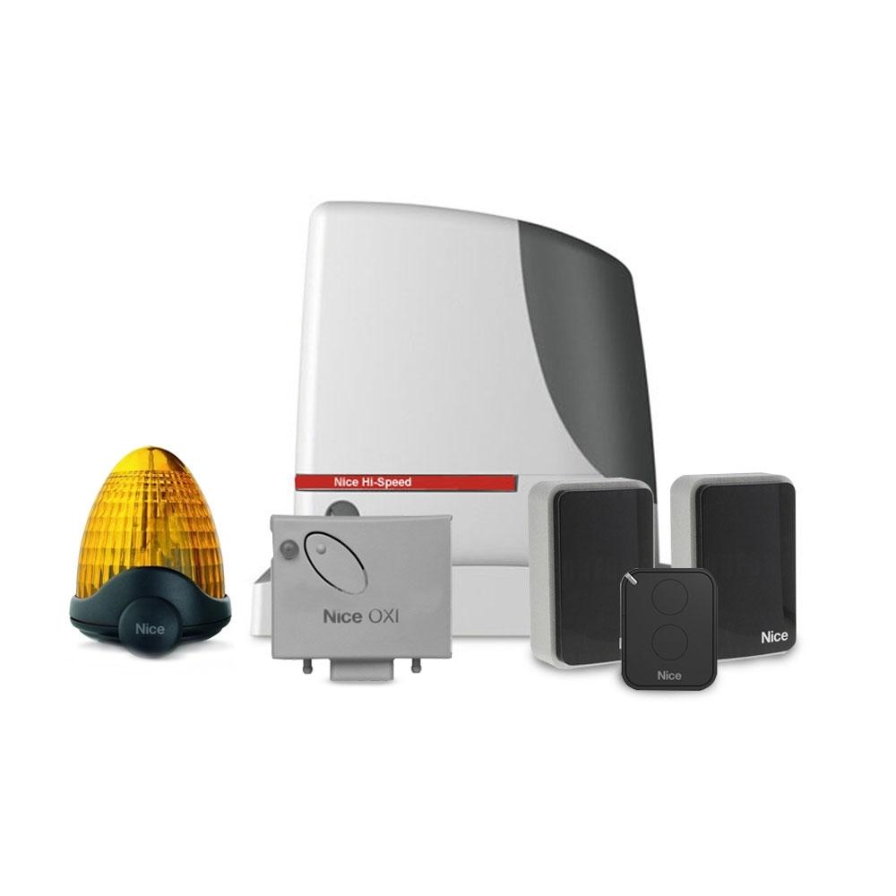 Kit Automatizare Poarta Culisanta Hi-speed Nice Run1200hs, 1200 Kg, 14 M, 230 Vac