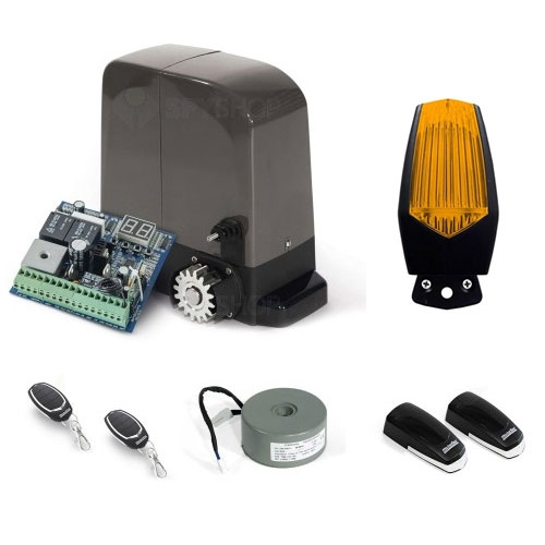 Kit automatizare poarta culisanta Motorline KIT BRAVO524, 500 Kg, 7 m, 24 V imagine spy-shop.ro 2021