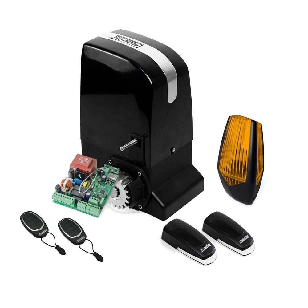 Kit automatizare poarta culisanta Motorline KIT OL1500, 110/230 V, 1500 Kg, 550 W, 15 m de la Motorline