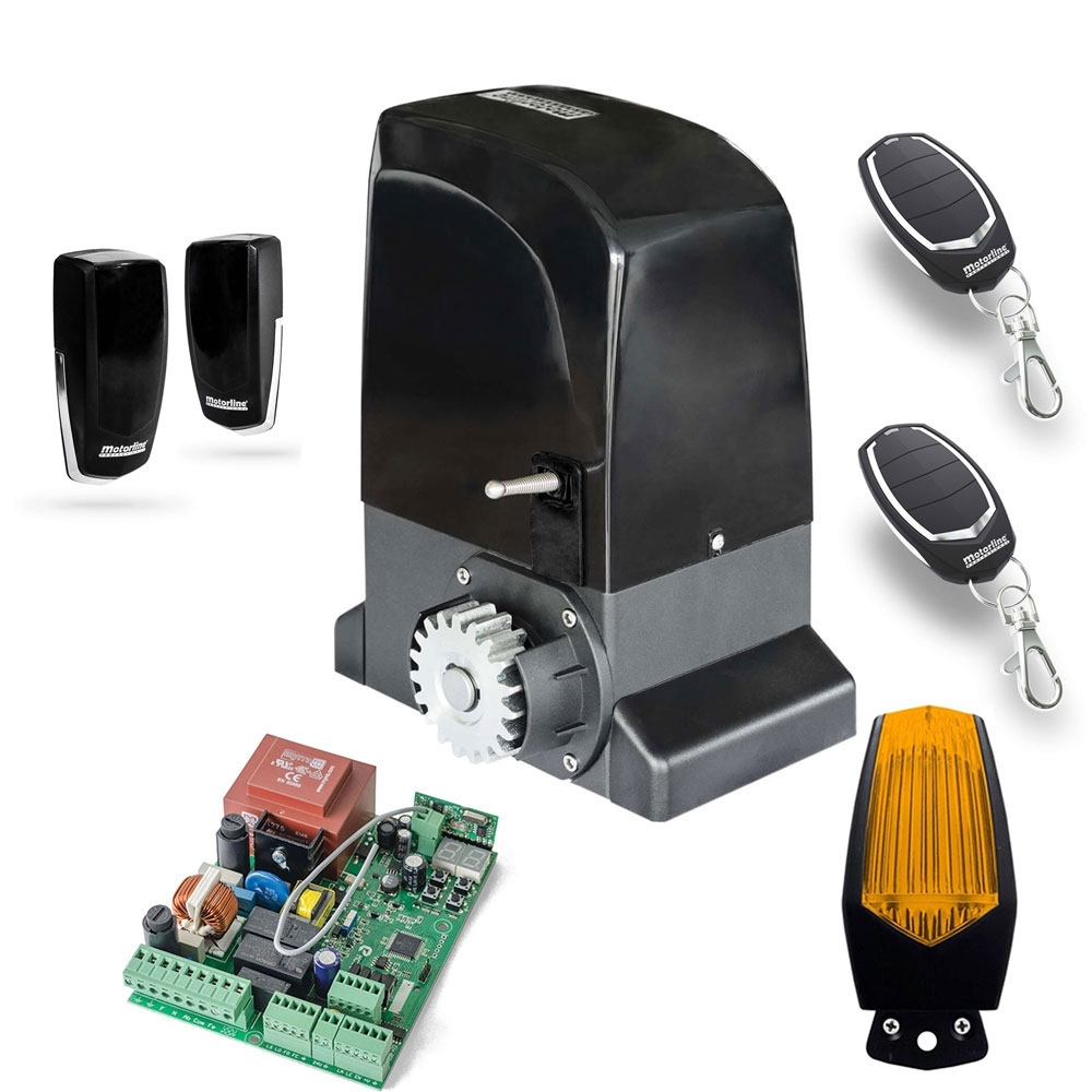 Kit automatizare poarta culisanta Motorline KIT OL1500, 110/230 V, 1500 Kg, 550 W imagine spy-shop.ro 2021