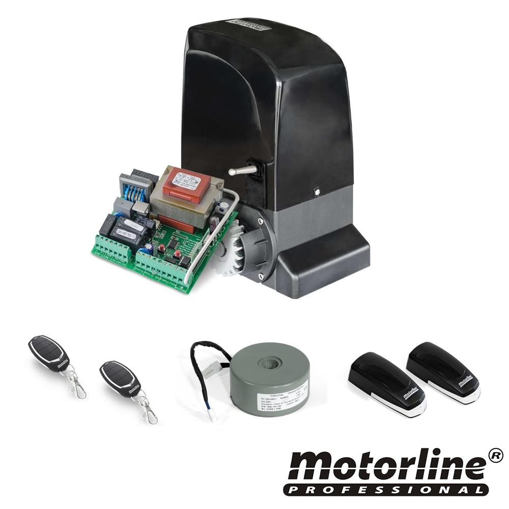 Kit automatizare poarta culisanta Motorline KIT SLIDE1024, 1000 Kg, 7 m, 24V