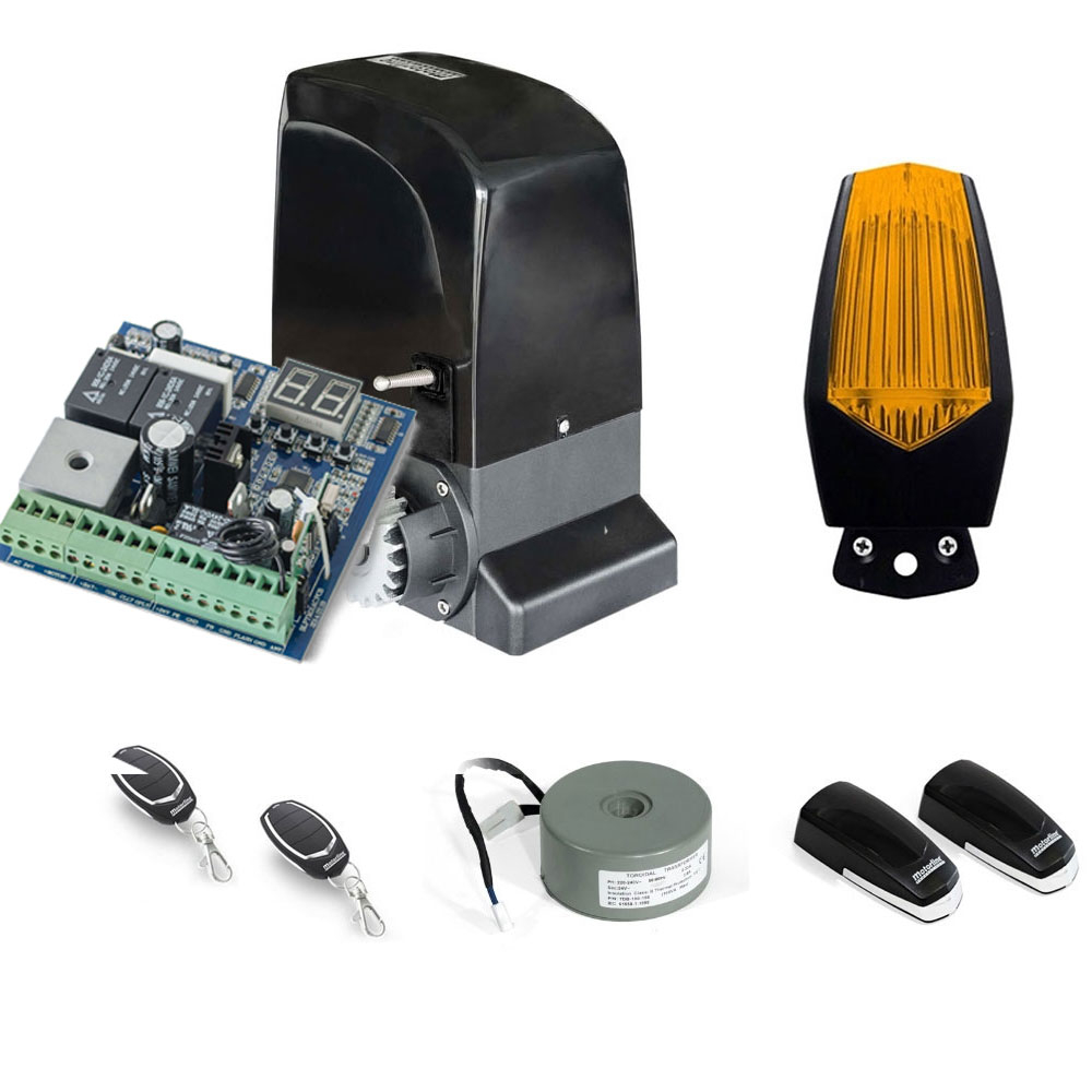 Kit automatizare poarta culisanta Motorline KIT SLIDE1024, 1000 Kg, 7 m, 24 V imagine spy-shop.ro 2021