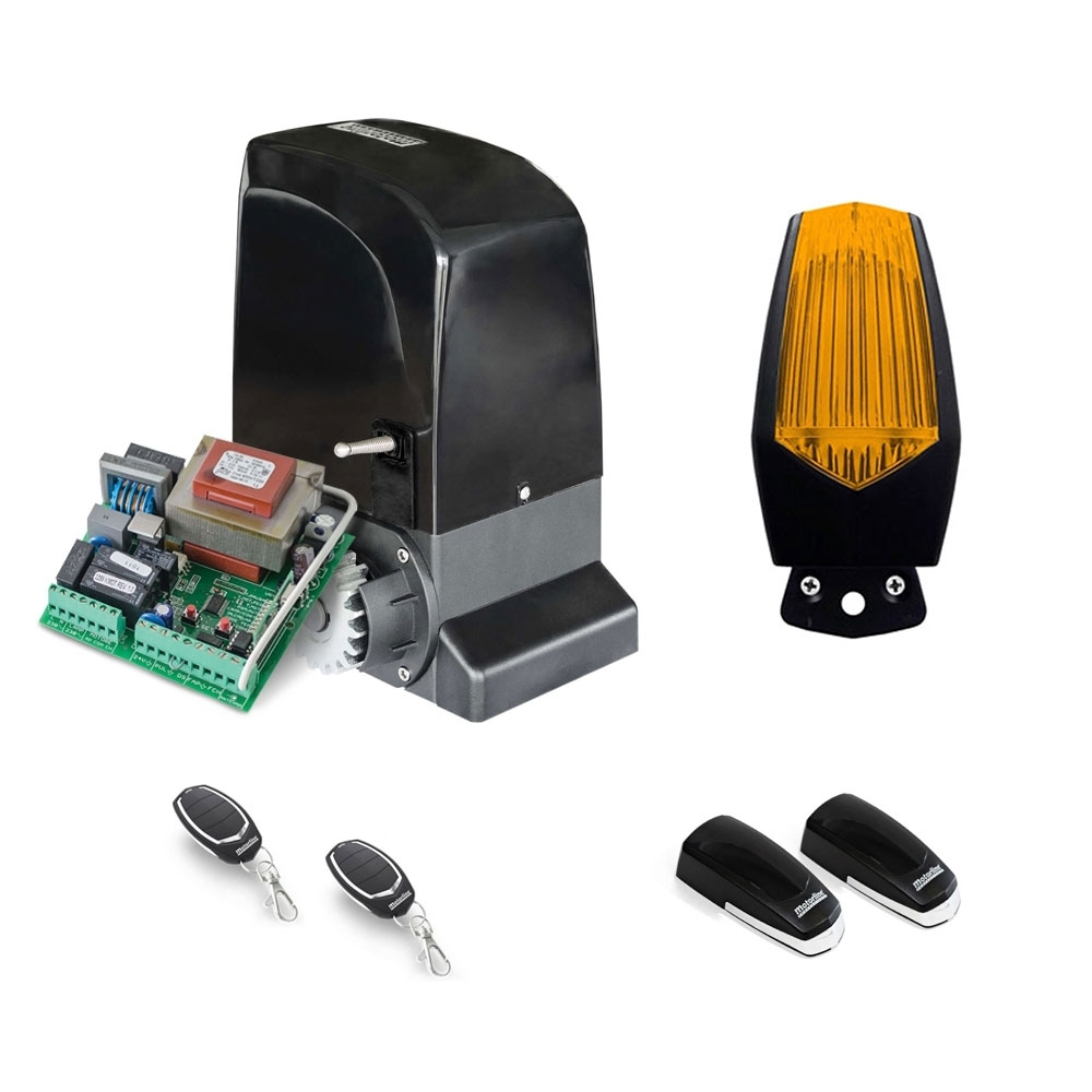 Kit automatizare poarta culisanta Motorline KIT SLIDE800A, 800 kg, 7 m, 230 Vac imagine spy-shop.ro 2021