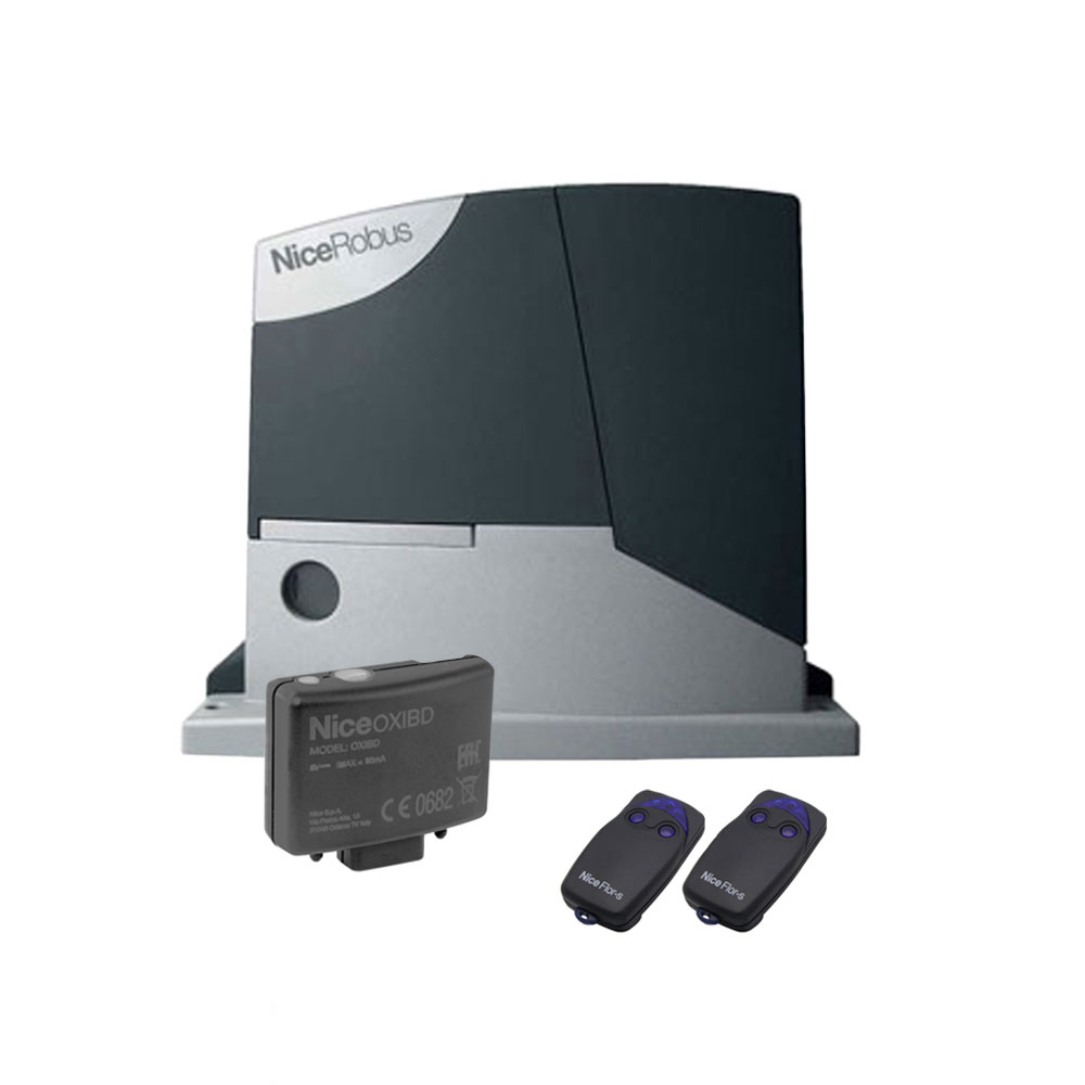 Kit automatizare poarta culisanta Nice RB600+SMXI, 600 Kg, 230 Vac, 515 W imagine spy-shop.ro 2021