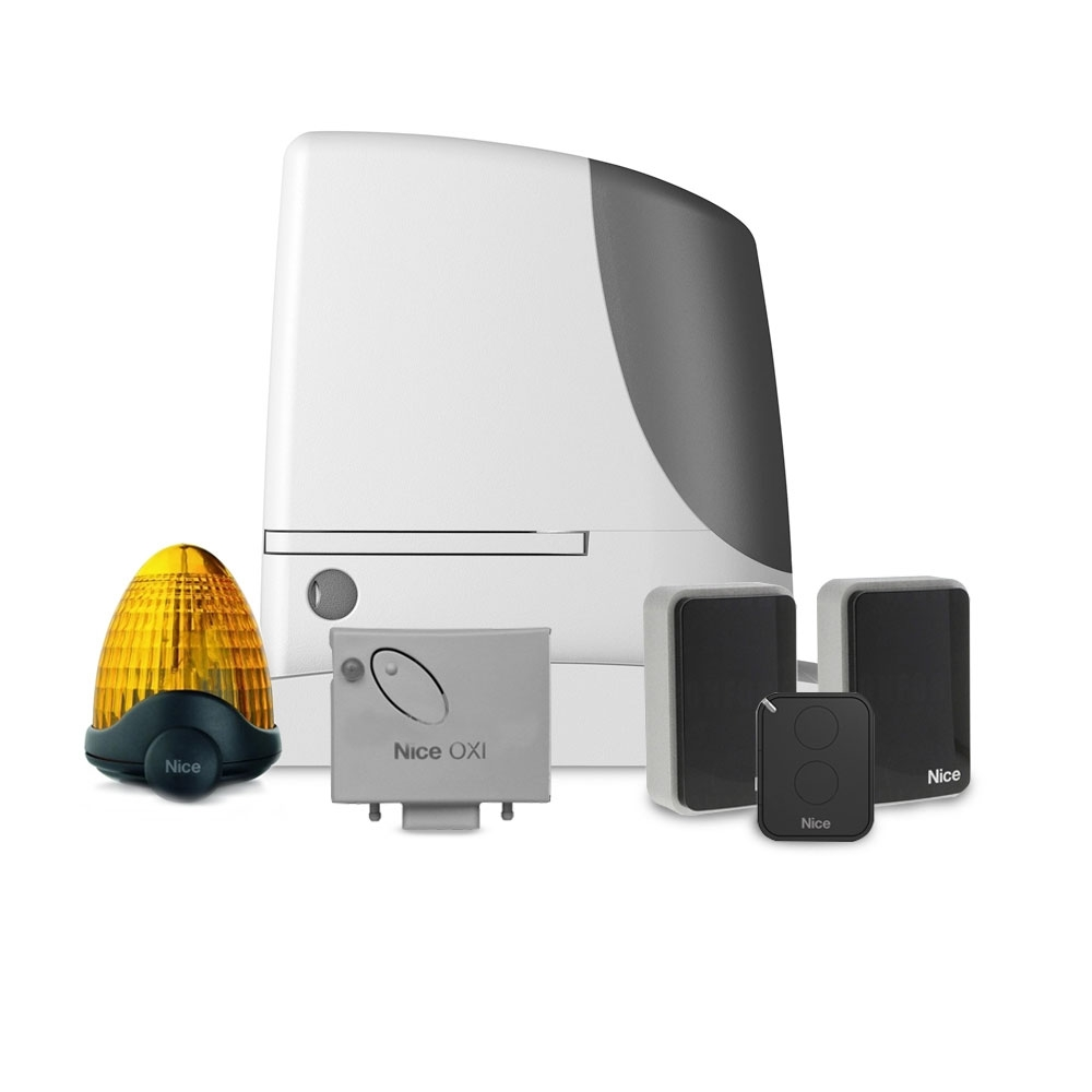 Kit automatizare poarta culisanta Nice RUN1800, 1800 Kg, 15 m, 230 Vac