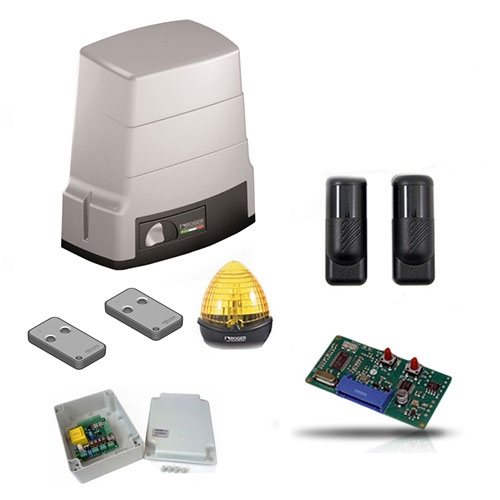 Kit automatizare poarta culisanta Roger Technology BH/603, 600 Kg, 230 V, 130 W imagine spy-shop.ro 2021