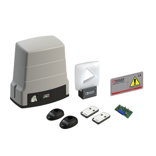 Kit automatizare poarta culisanta Roger Technology BH30/805, 1000 Kg, 24 V, 200 W imagine spy-shop.ro 2021