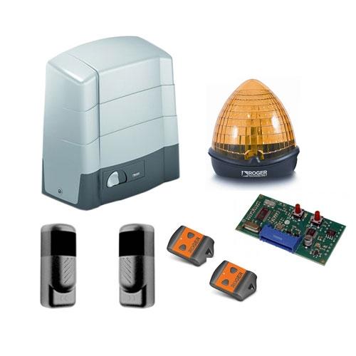 Kit automatizare poarta culisanta Roger Technology G30/1800, 1800 Kg, 230 V, 520 W