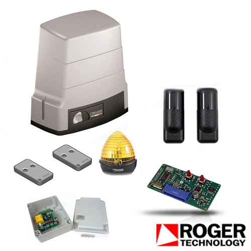 Kit automatizare poarta culisanta Roger Technology BH/603, 600 Kg, 230 V, 130 W