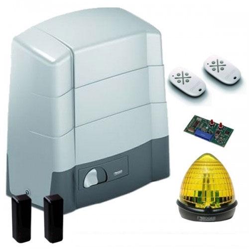 Kit automatizare poarta culisanta Roger Technology Kit G30/1804, 1800 Kg, 230 Vac, 520 W