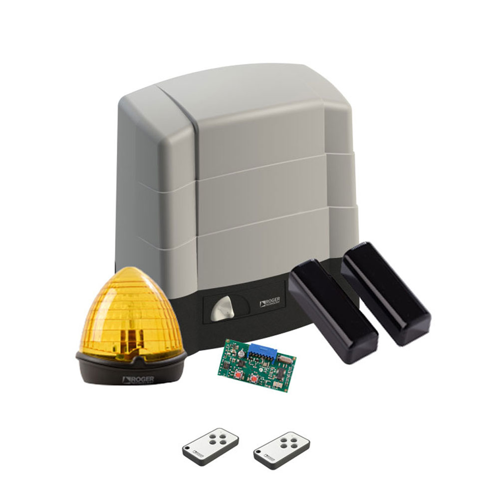 Kit automatizare poarta culisanta Roger Technology KIT G30/2204, 2200 Kg, 1500 N, 230 V AC imagine spy-shop.ro 2021