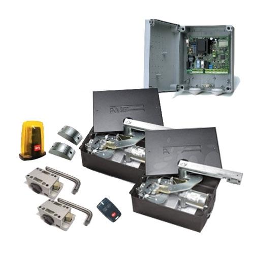 Kit automatizare porti batante BFT ELI 250 BT, 400 Kg/canat, 3,5 m/canat, 24 V