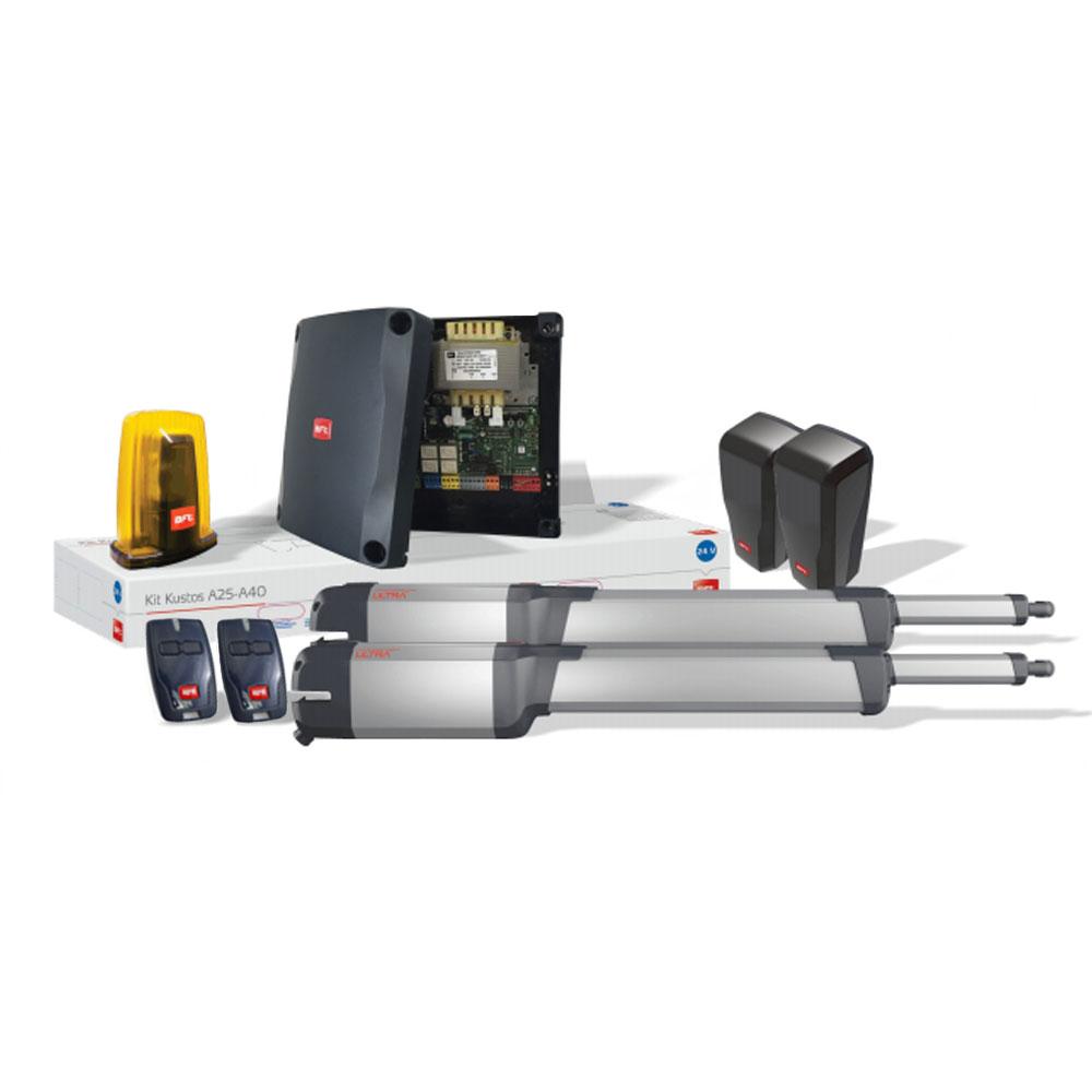 Kit automatizare porti batante BFT KUSTOS-ULTRA-BT-A25, 400 Kg/canat, 2.5 m/canat, 24 V
