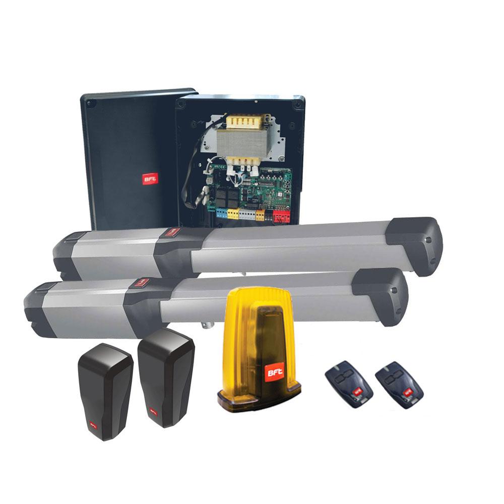 Kit automatizare porti batante BFT PHOBOS-BT-A25, 400 Kg/canat, 2.5 m/canat, 24 V imagine spy-shop.ro 2021