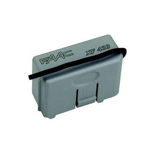 Receptor radio FAAC XF 433, 2 canale, 24 Vdc, 250 transmitatoare
