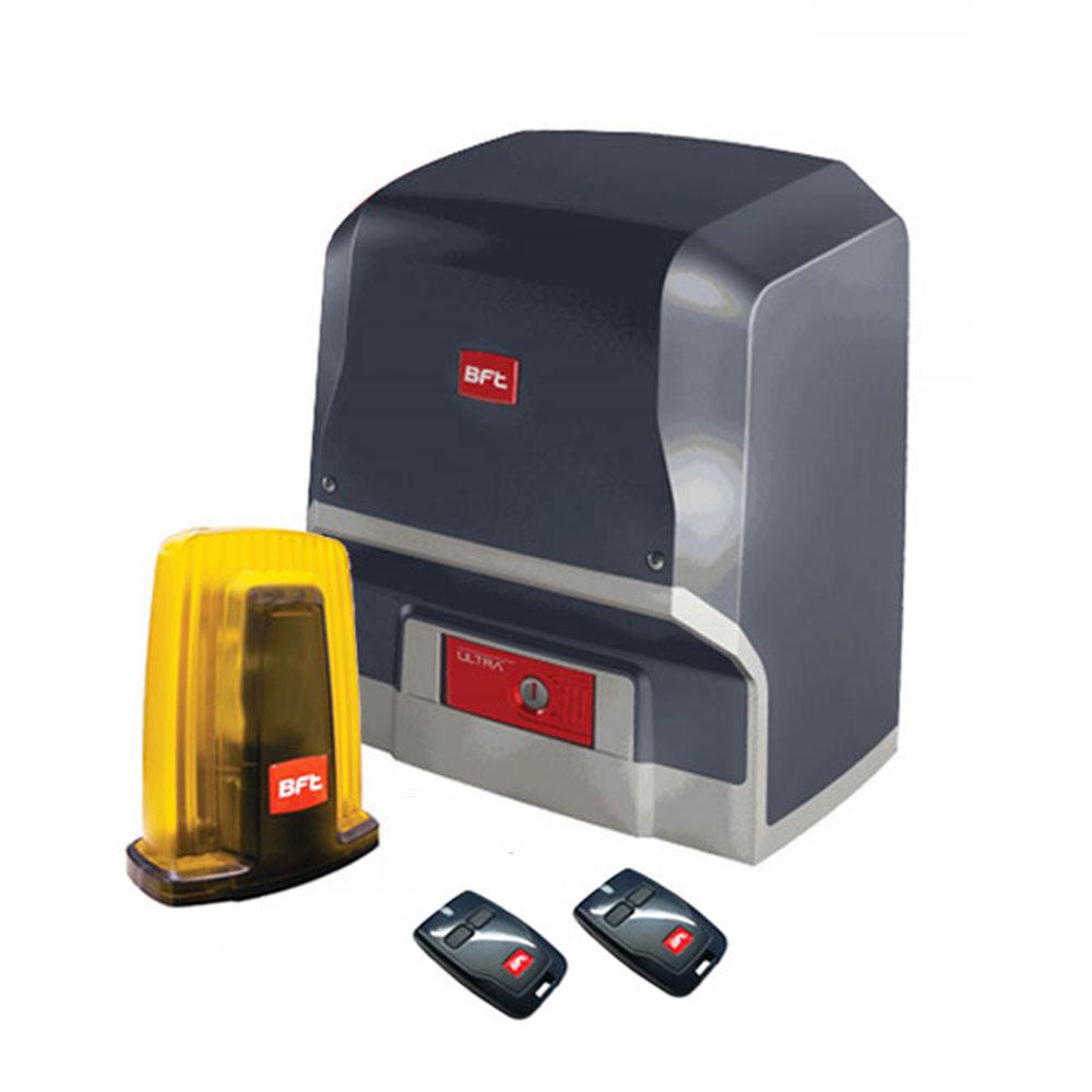 Kit automatizare porti culisante BFT ARES-VELOCE, 500 Kg, 24 V, limitator eletromecanic