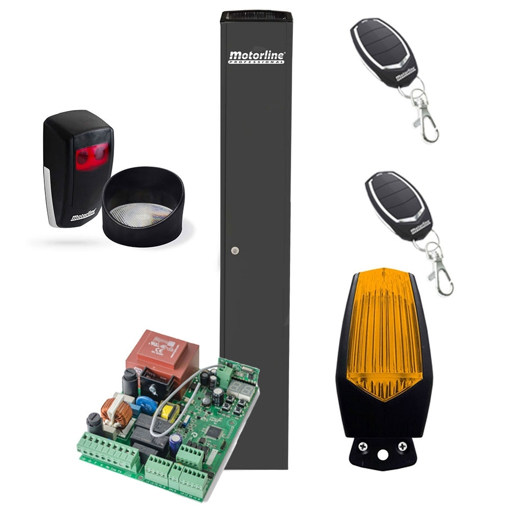 Kit automatizare porti culisante Motorline FORT 230, 400 Kg, 90 W, 230 Vac imagine spy-shop.ro 2021