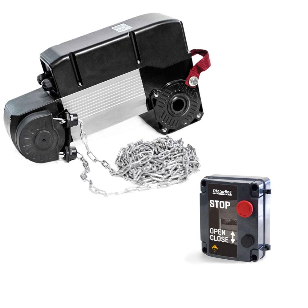 Kit automatizare usi sectionale industriale Motorline KVM105, 35 m2, 230 Vac, 650 W imagine spy-shop.ro 2021