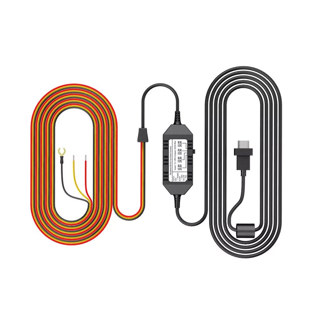 Kit cablu hardwire pentru camera DASH A139 2CH / 3CH Viofo HK3-C, port USB Type-C