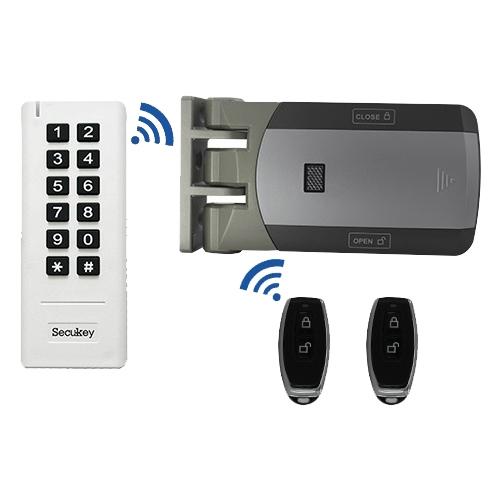 Kit de acces wireless pentru o usa Secukey YLI-D1, RFID, 50 m, 500 utilizatori imagine spy-shop.ro 2021