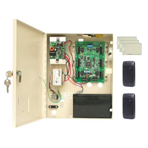 Kit de acces Rosslare AC-225, 30000 utilizatori, 10000 evenimente, 50 cartele imagine spy-shop.ro 2021