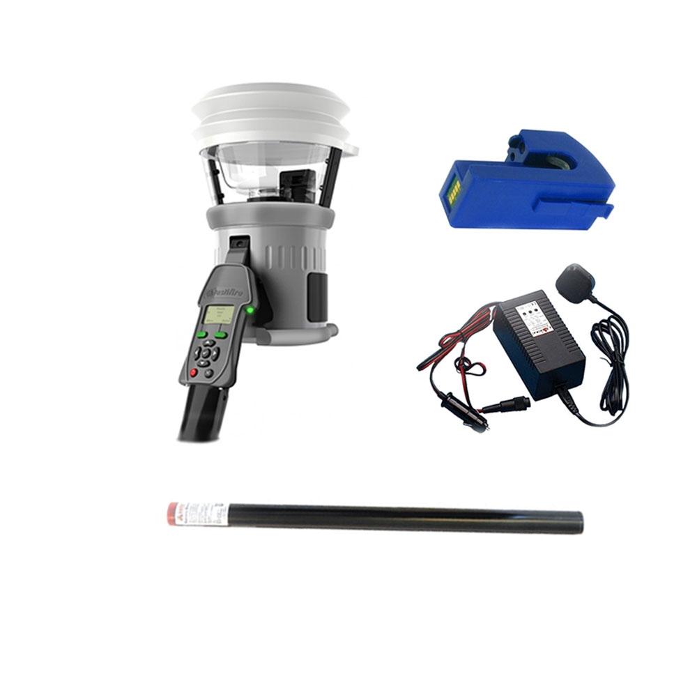 Kit testare detectori de fum/temperatura TESTIFIRE 1001-1-101, interfata programabila, testare multisenzor, 1 baterie imagine spy-shop.ro 2021