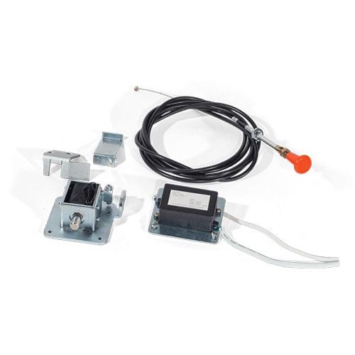 Kit incuietoare electrica pentru usi glisante de sticla Motorline MELE01 imagine