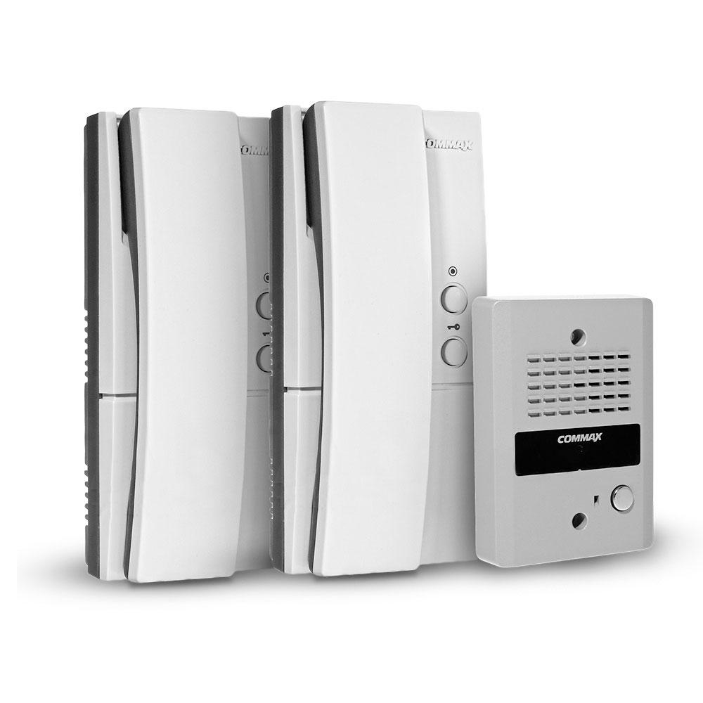 Kit interfon Commax RM302K, 1 familie, aparent, 150 m