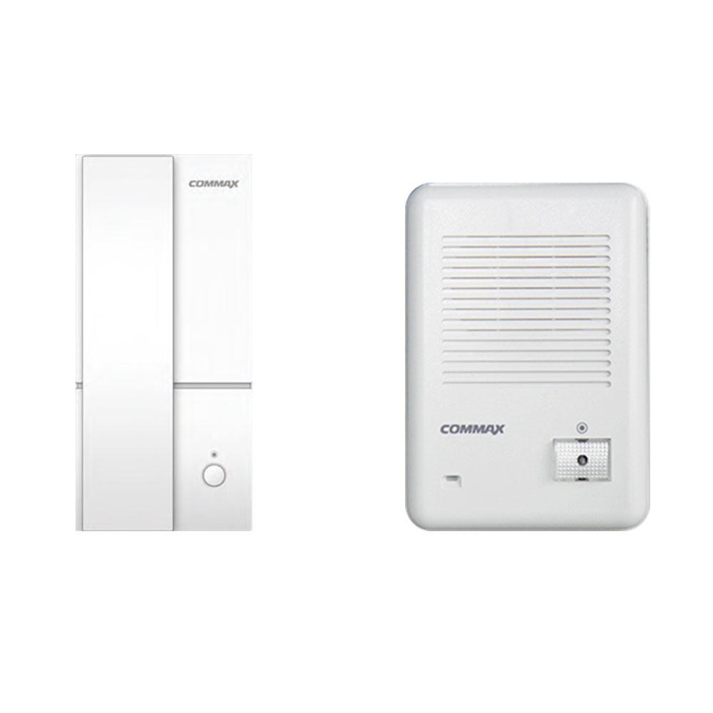 Kit interfon wireless Comax WD174, 1 familie, aparent, 250 m