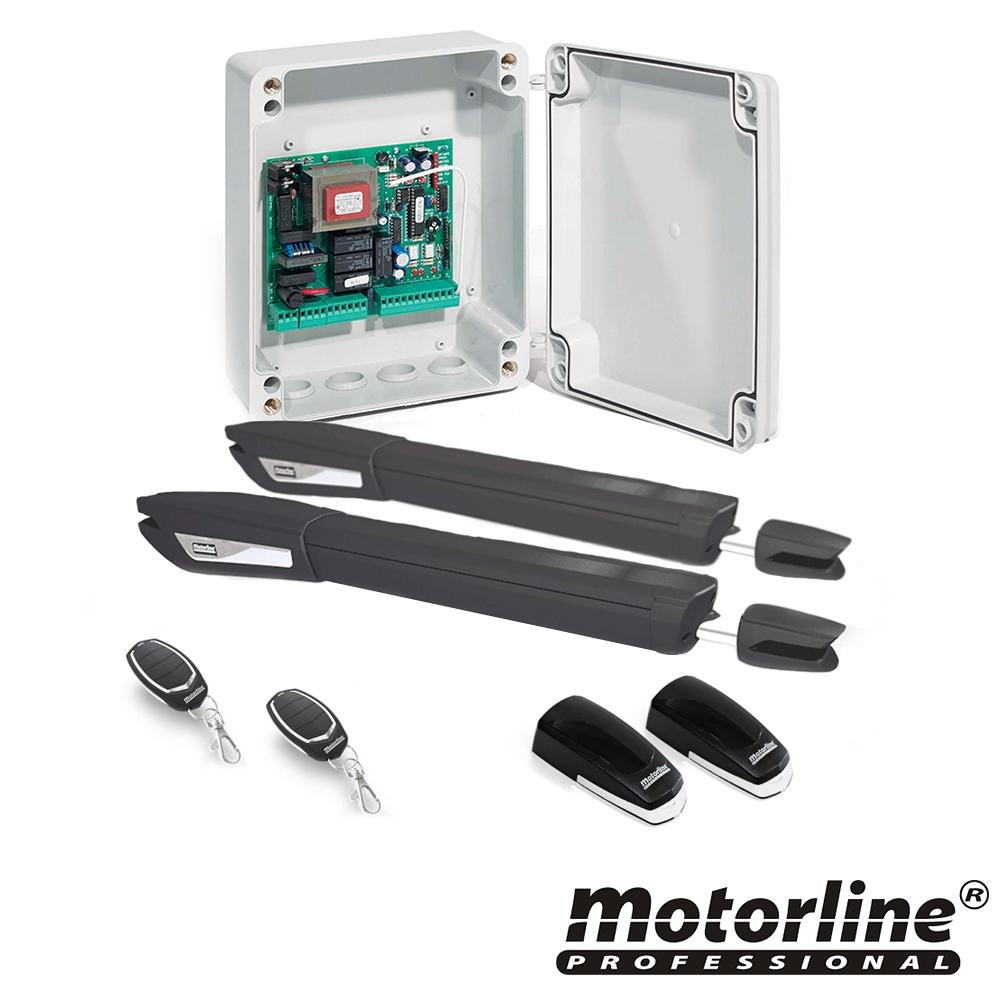 Kit automatizare poarta batanta Motorline JAG400, 250 Kg, 3 m, 230 Vac