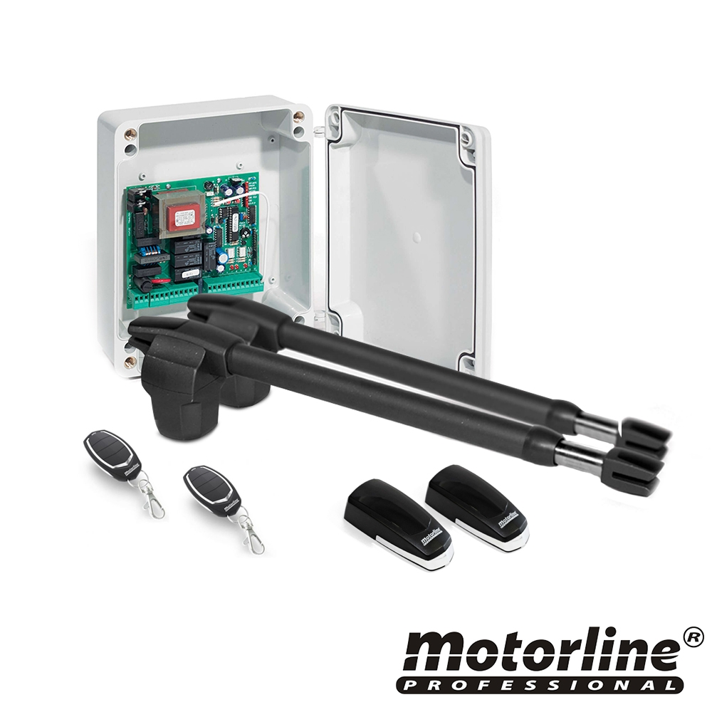 Kit automatizare poarta batanta Motorline LINCE 600, 250 Kg, 4 m, 230 Vac