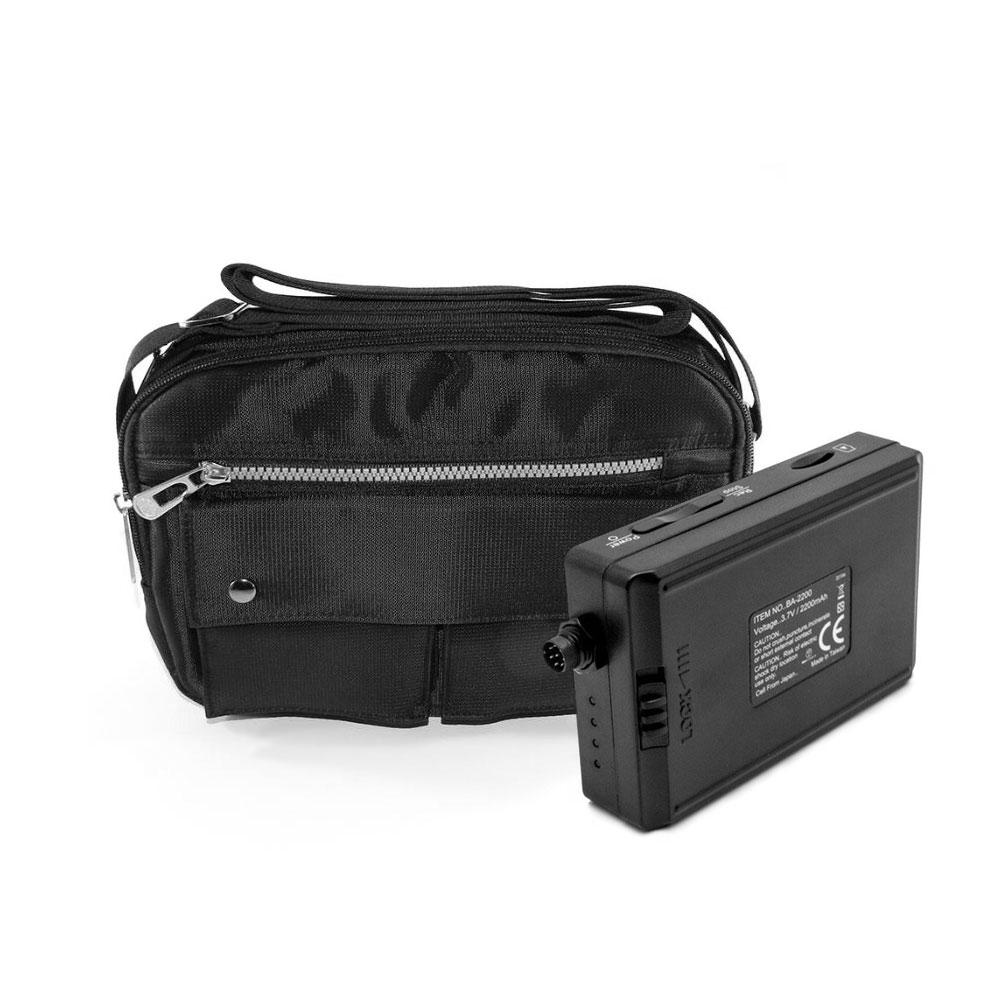 Kit microcamera disimulata in geanta de umar cu mini DVR portabil LawMate, 700 LTV, WiFi, microfon incorporat imagine