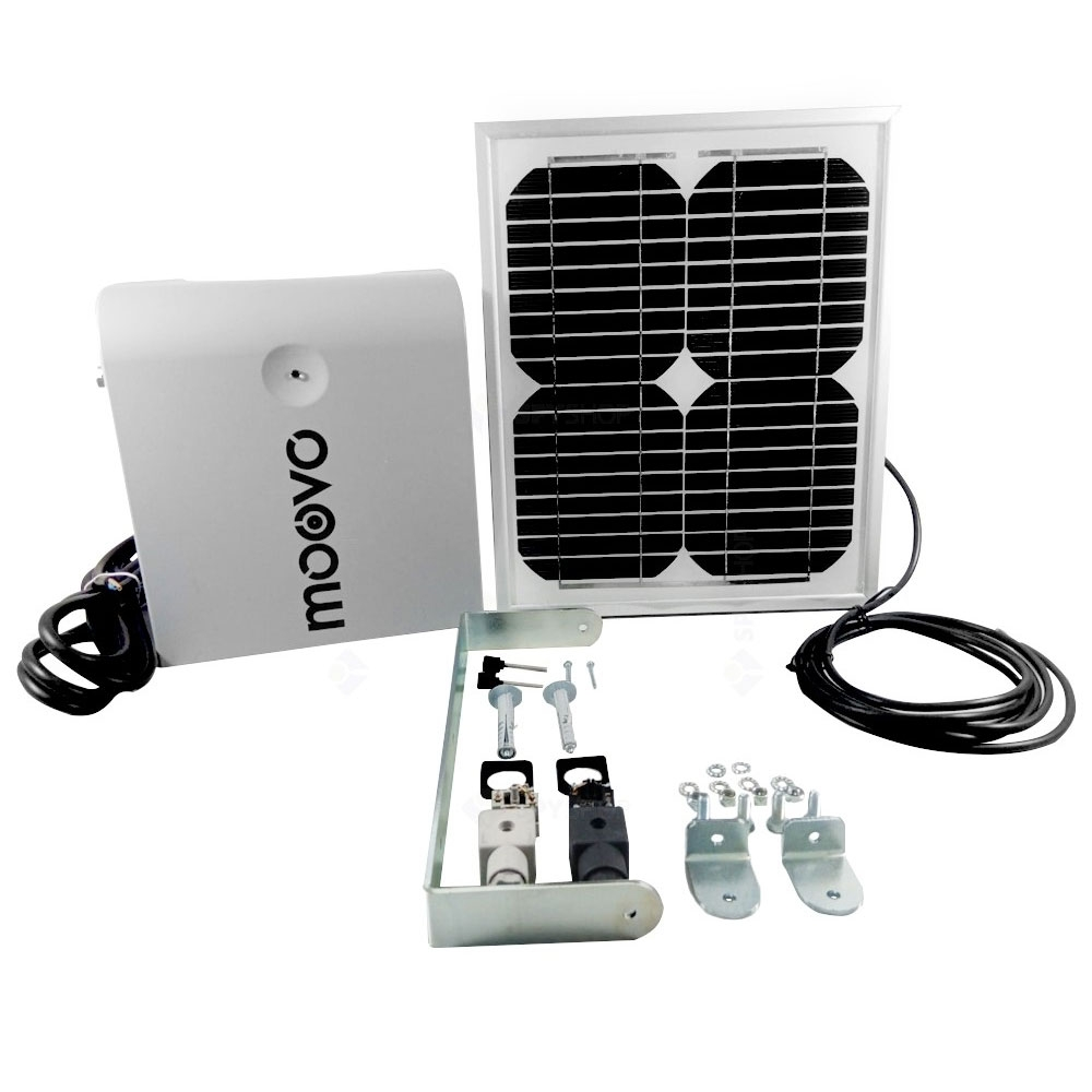Kit panou solar pentru automatizari Moovo KSMKM, 18 zile (10 ciclcuri/zi), 12 V imagine spy-shop.ro 2021