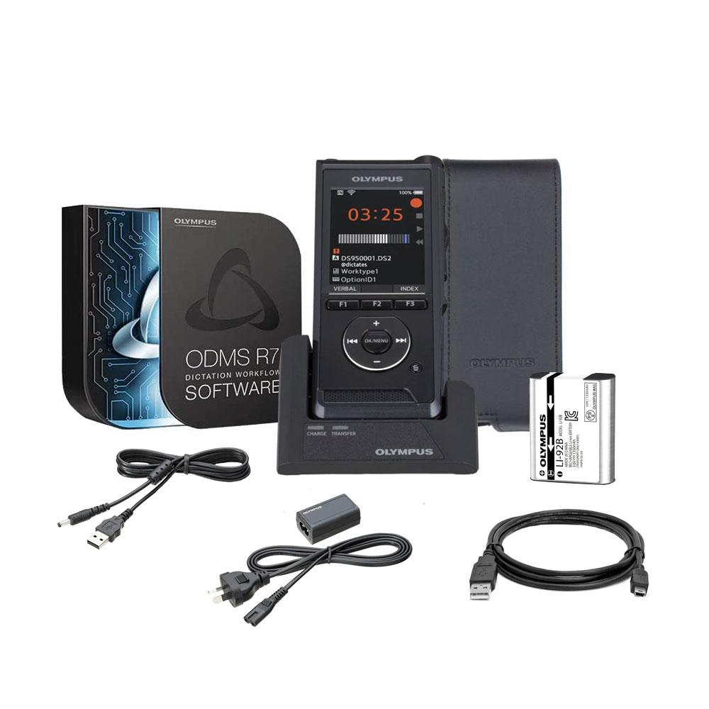 Kit reportofon digital profesional WiFi Olympus V741010BE000, 2.4 inch, 2 GB, DSS Pro, PCM, MP3, Playback imagine spy-shop.ro 2021