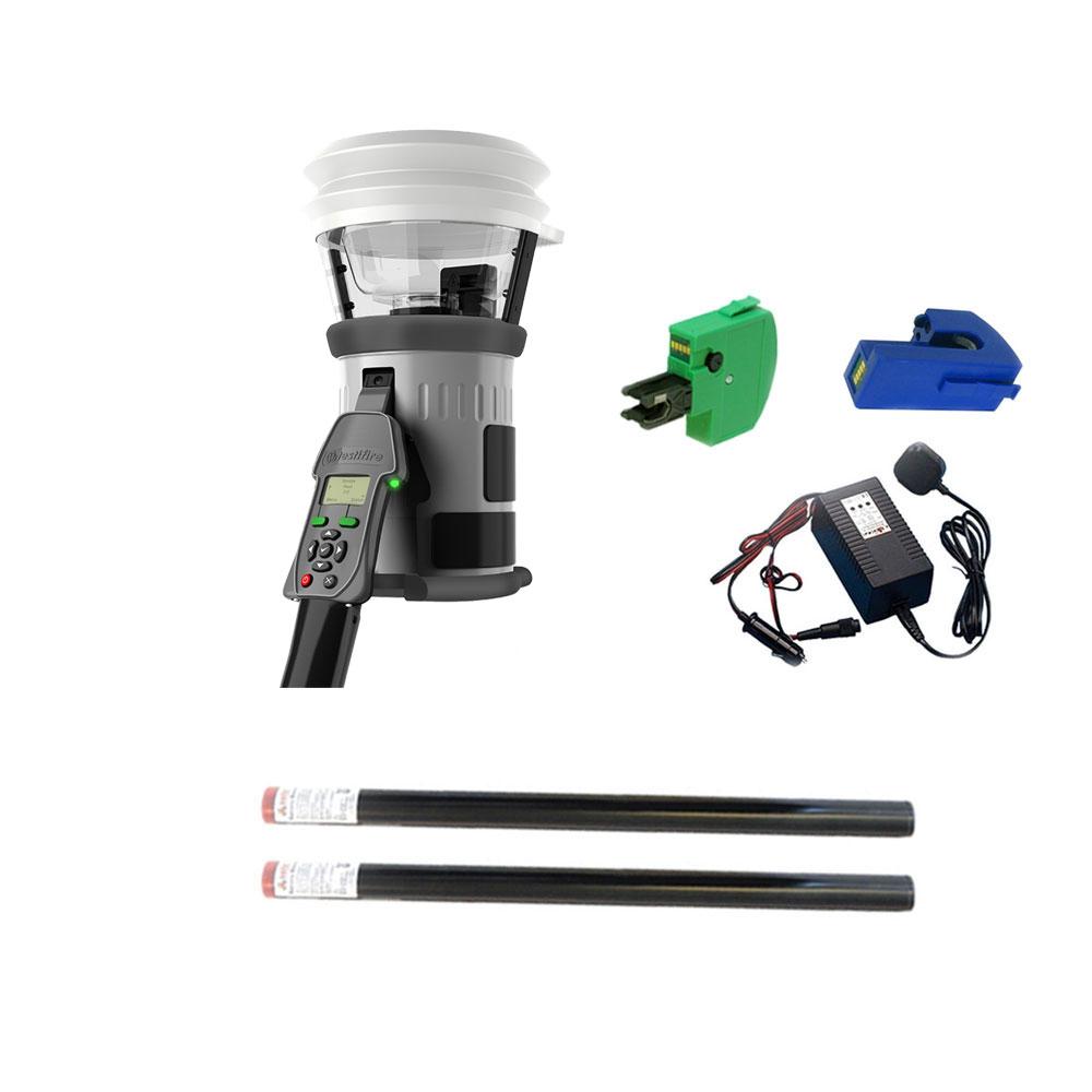 Kit testare detectori de fum/temperatura/CO TESTIFIRE 2001-101, interfata programabila, testare multisenzor, 2 baterii imagine spy-shop.ro 2021