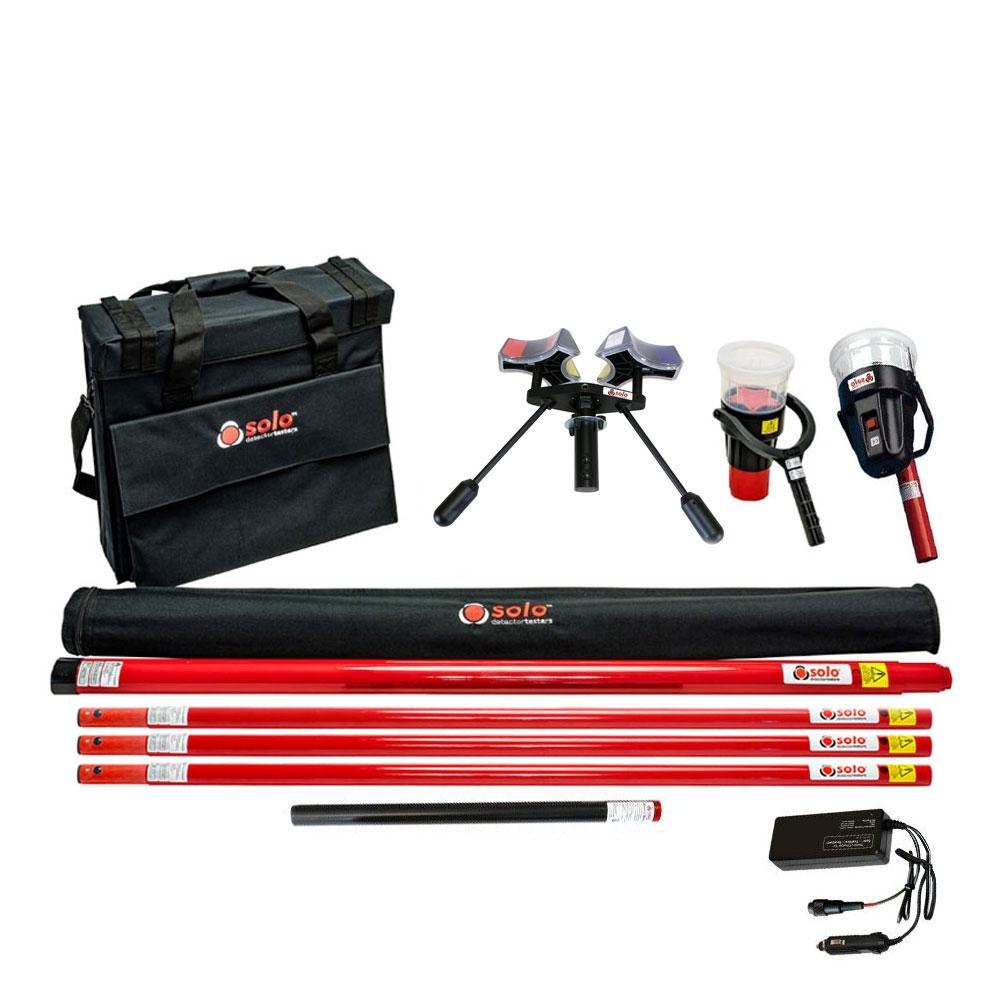 Kit testare/extragere detectori de fum si temperatura SOLO 823-1-101, max 9.3 m, 1 baterie imagine spy-shop.ro 2021