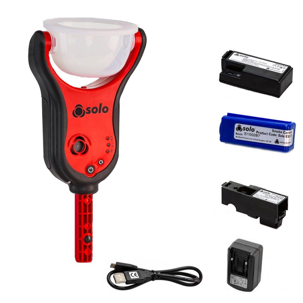 Kit tester detectori de fum SOLO365-001 imagine spy-shop.ro 2021