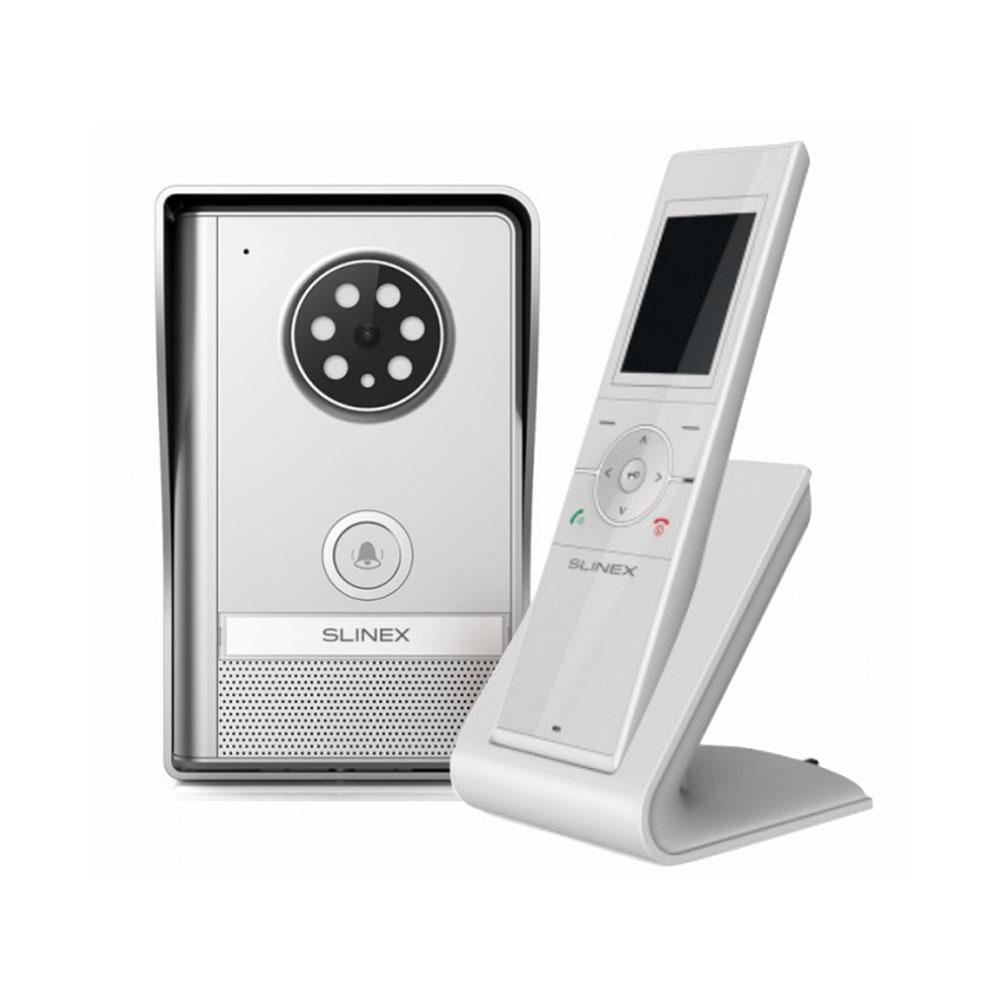 Kit videointerfon wireless SLINEX RD-30V2, 1 familie, aparent, vila imagine spy-shop.ro 2021