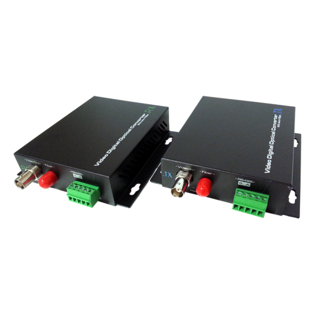 Kit convertor video CVBS UOF101VD-S20, 20Km, 2W imagine spy-shop.ro 2021