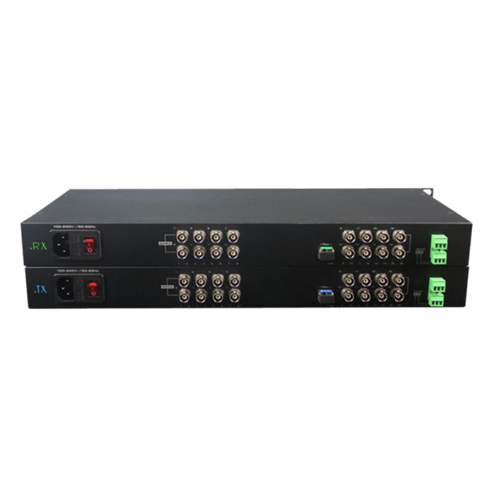 Kit convertor video UOF116VD-S20 CVBS, 16 canale video, 20 km, 15 W imagine spy-shop.ro 2021