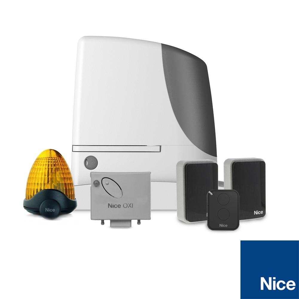 Kit automatizare poarta culisanta Nice RUN2500, 2500 Kg, 18 m, 230 Vac