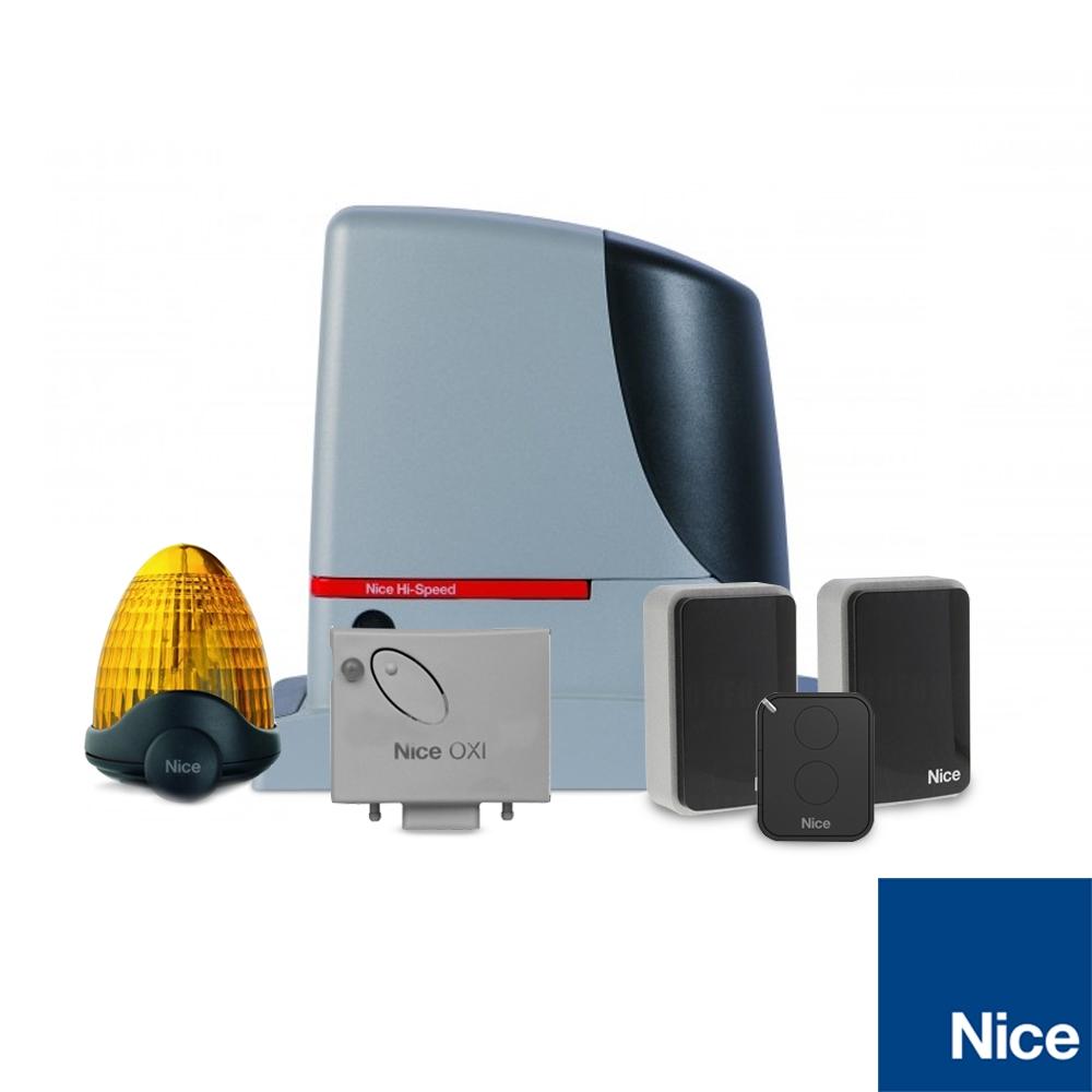 Kit automatizare poarta culisanta Hi-Speed Nice RUN400HS, 400 Kg, 8 m, 230 Vac