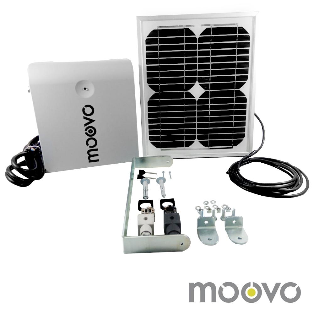 Kit panou solar pentru automatizari Moovo KSMKM, 18 zile (10 ciclcuri/zi), 12 V