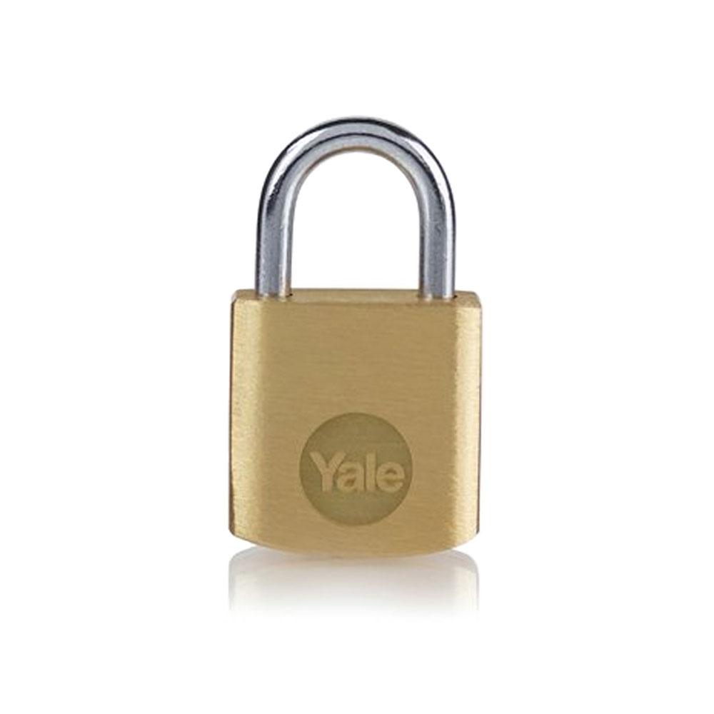 Lacat din alama Yale Y110B/20/111/1, 20 mm, cheie, interior imagine spy-shop.ro 2021