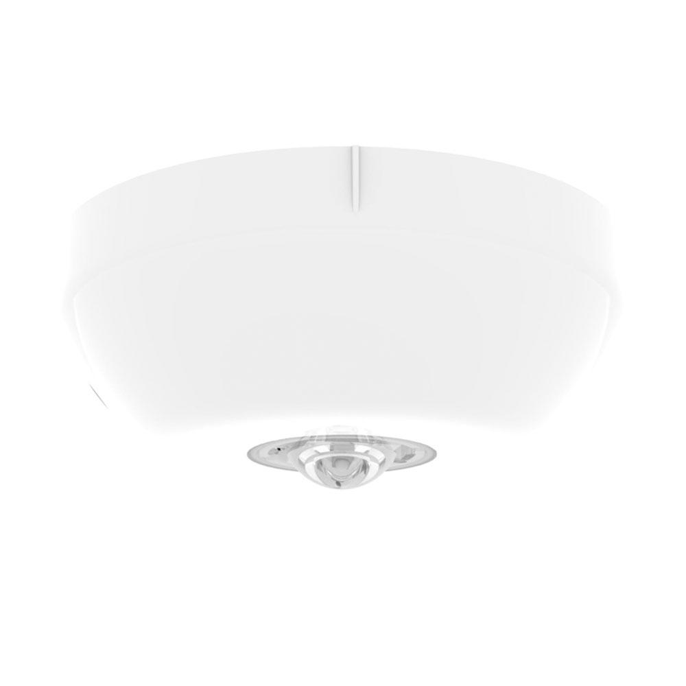 Lampa de incendiu adresabila pentru tavan Hochiki ESP CHQ-CB(WHT)/WL-15, 15 m, LED alb, carcasa PC+ABS alb